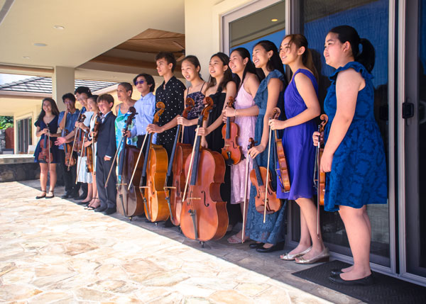 All the 2019-20 Madeline Schatz-Harris Concerto Competition Competitors